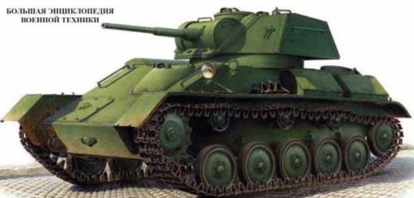 Легкий танк Т-80