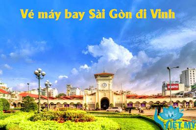 Giá vé máy bay Sài Gòn đi Vinh tháng 11