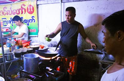 Yangon Street Food fresh made