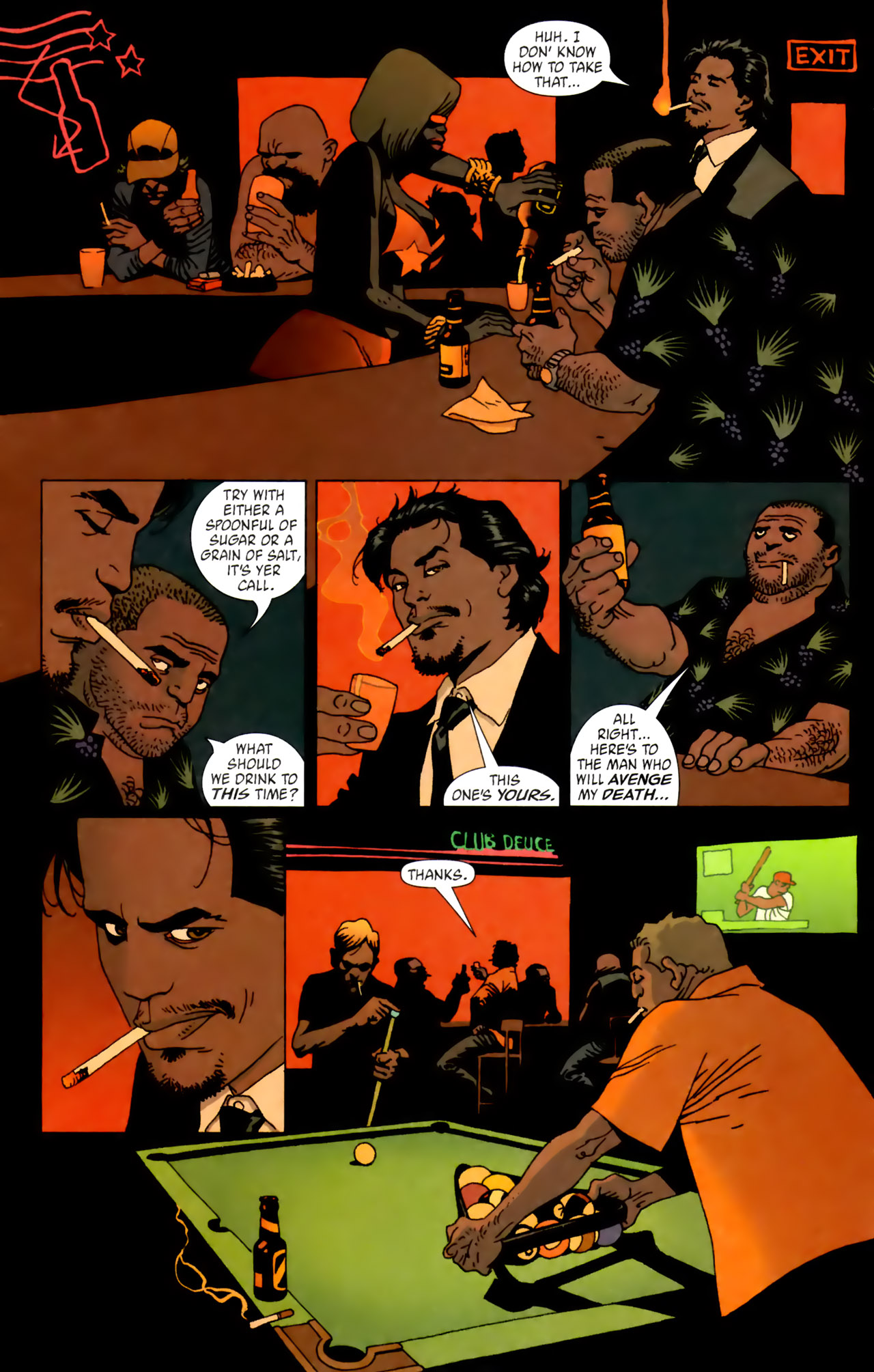 Read online 100 Bullets comic -  Issue #62 - 6