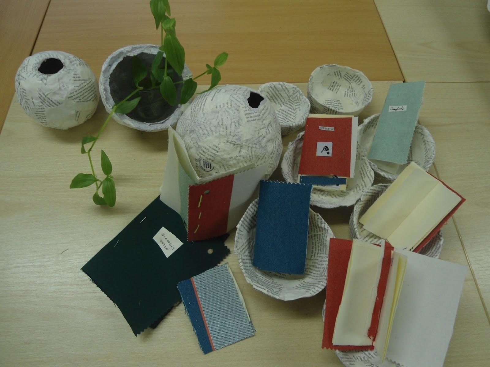 Vaak Octopus 3B: De nieuwe bieb: knutselen met oude boeken @ET16