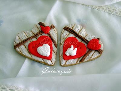 Galletas personalizadas San Valentín