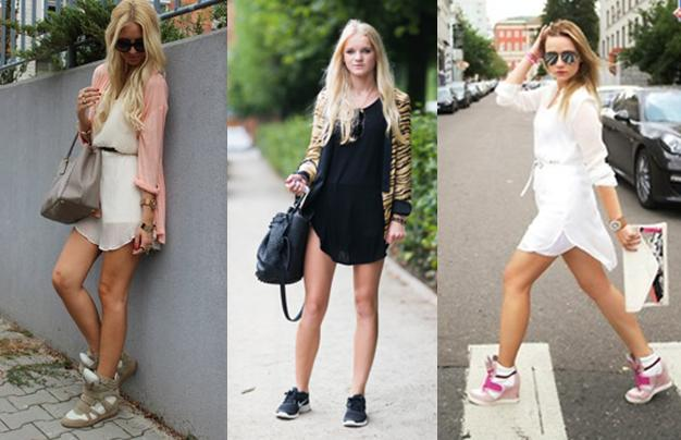 53d8123c0 Fashionate: Faldas&zapatillas