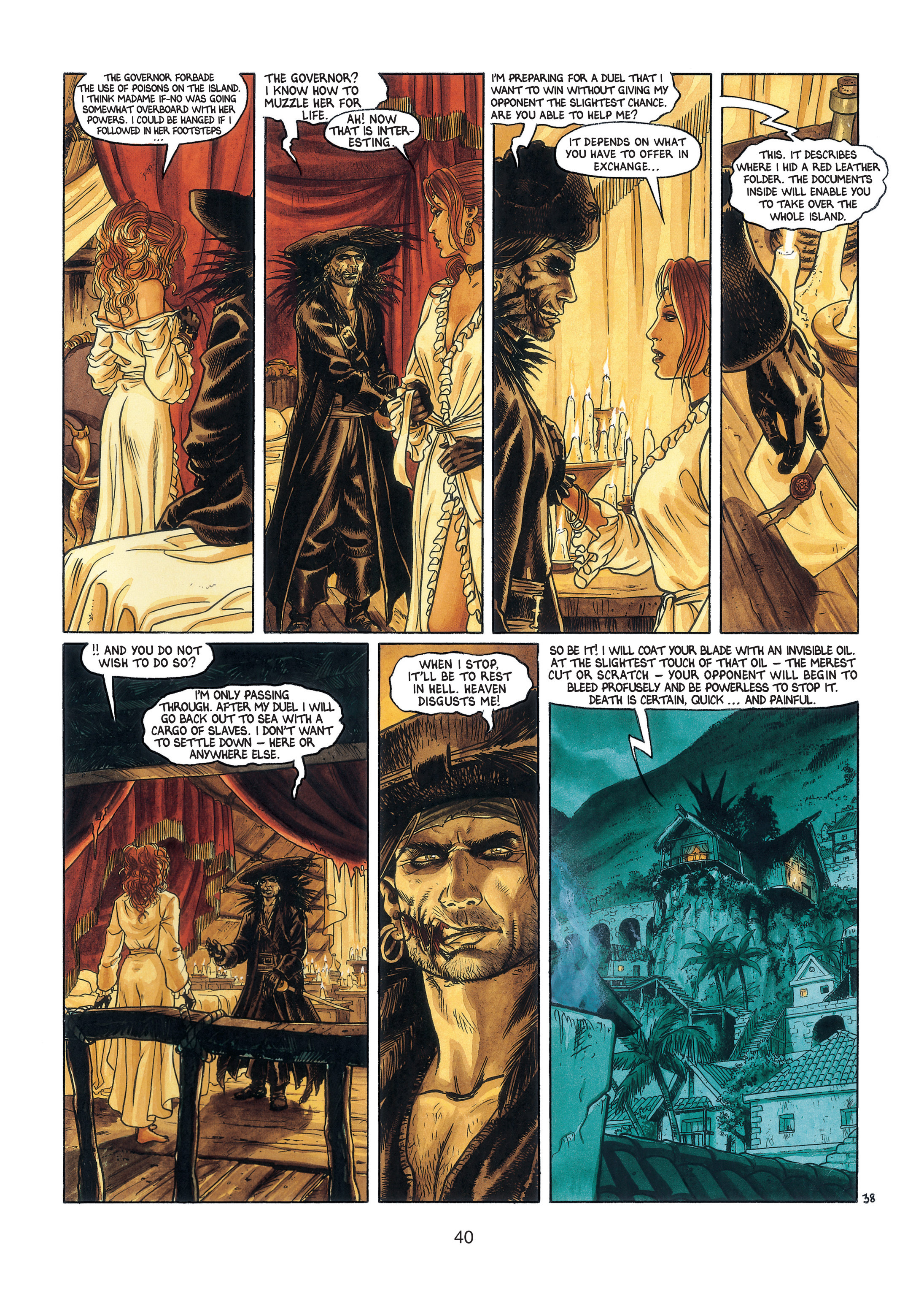 Read online Barracuda comic -  Issue #3 - 41