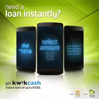 Etisalat Nigeria Introducing New  Kwik Cash Loans