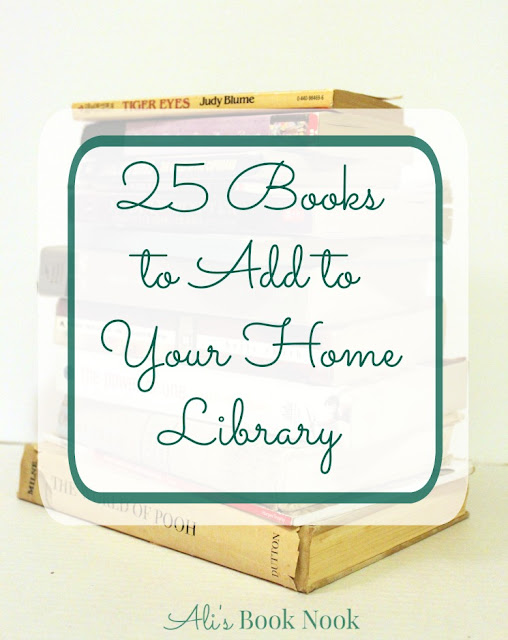 books for your home libary