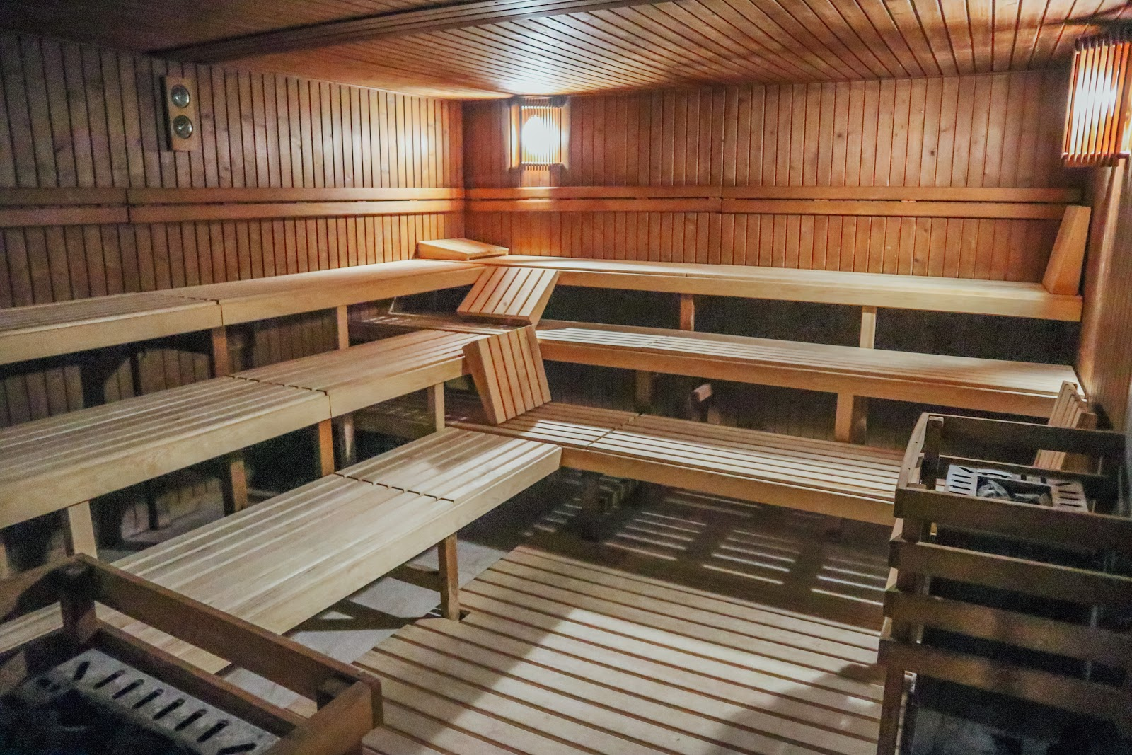 Sauna at Senator Barcelona Spa Hotel