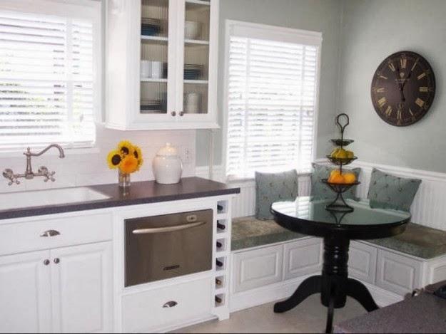 C mo decorar cocinas peque as colores en casa for Como aprovechar una cocina pequena