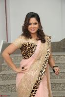 Shilpa Chakravarthy in Lovely Designer Pink Saree with Cat Print Pallu 028.JPG