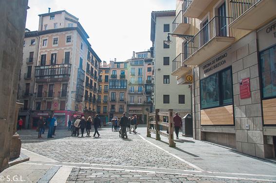 Plaza del ayuntamiento de Pamplona. Pamplona mucho mas que Sanfermines