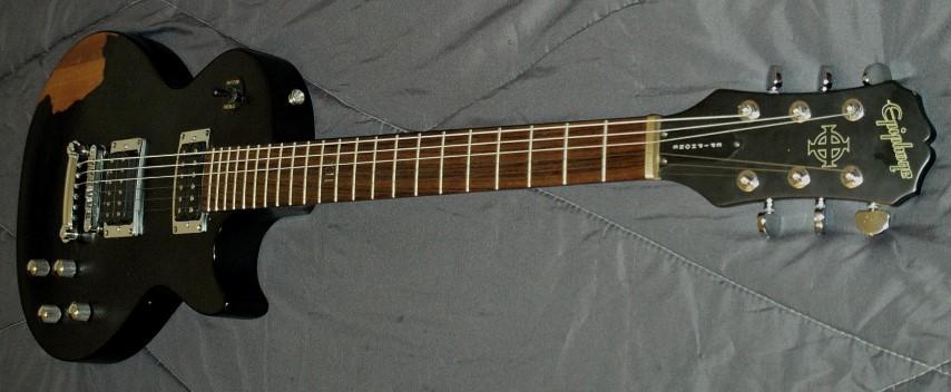 Epiphone Gothic Les Paul revamp! | Guitar Dreamer