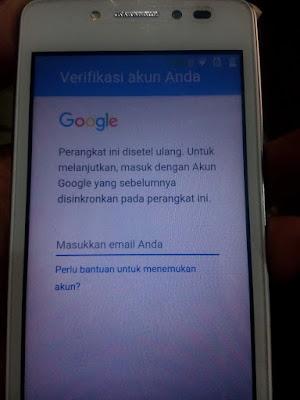 Cara menghapus FRP google di Andromax E2 4G B16C2H