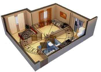 Feng shui house feng shui house plan a good day for building for Feng shui in building a house