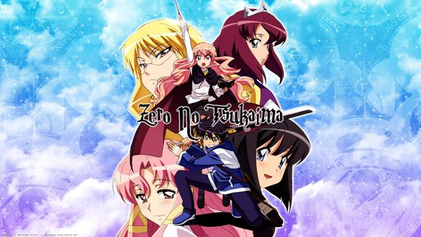 Zero no Tsukaima - Top Fantasy School Anime List