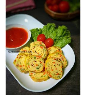 Resep Masakan Telur gulung ala korea By @yunmikomilanisti
