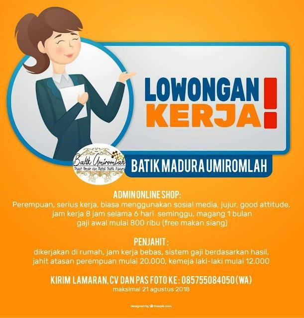 https://lokerkerjapt.blogspot.com/2018/08/lowongan-kerja-admin-dan-penjahit-batik.html