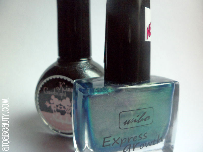 Paznokcie :: Topielica ujarzmiona <br>(Wibo Express Growth Nail Polish 345)