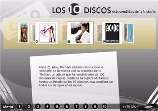 Los 10 discos más vendidos