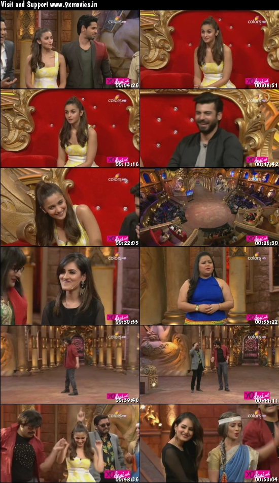 Comedy Nights Bachao 12 March 2016 HDTV 480p