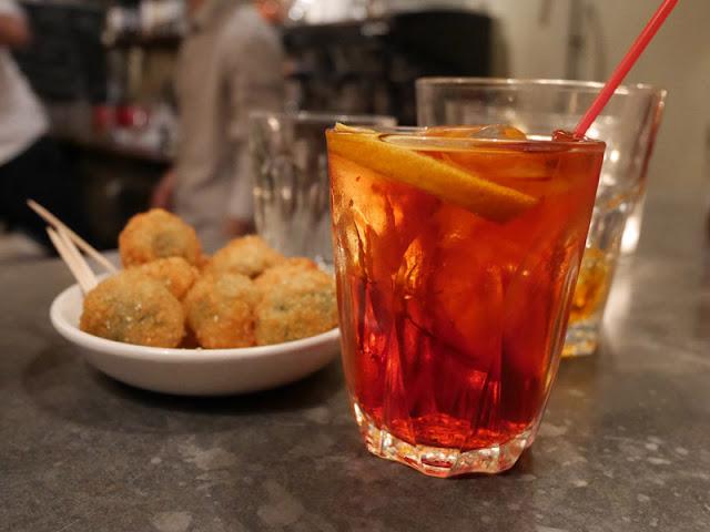 Polpo Brighton negroni cocktail
