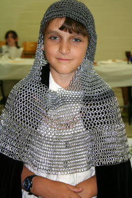 Medieval armour, grade 4 social studies event :: All Pretty Things