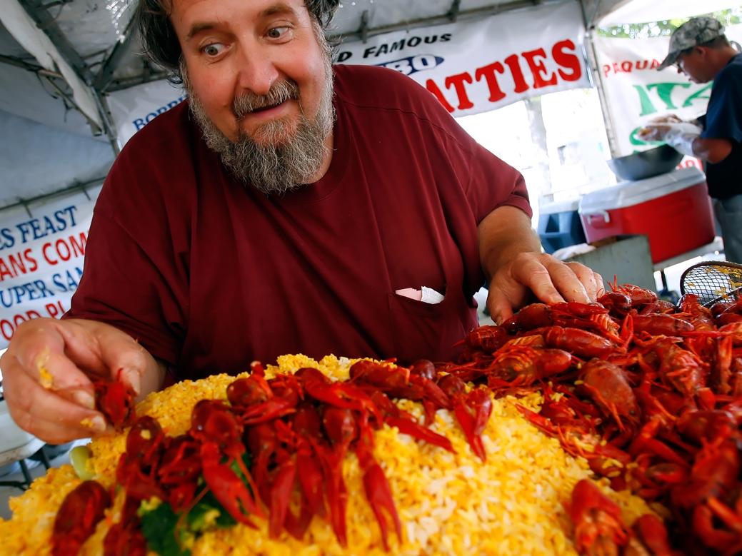 At The Table With Doris Italian Market 2012 Florida