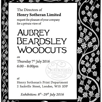 Aubrey Beardsley Woodcuts