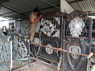 Pembuatan Pagar Besi Tempa Bandung untuk Rumah Mewah Klasik