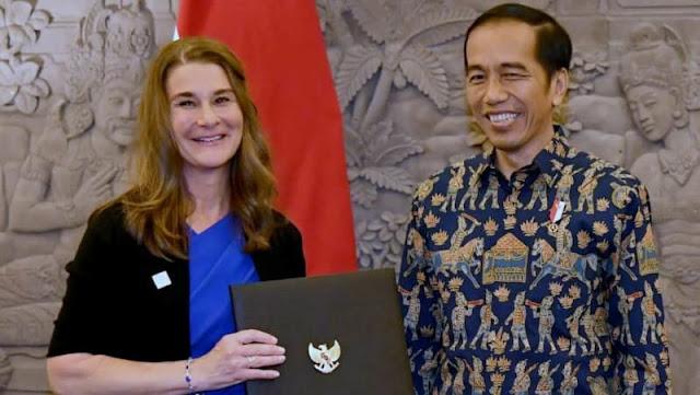 Jokowi Gandeng Bill Gates untuk Naikkan Kualitas SDM Indonesia