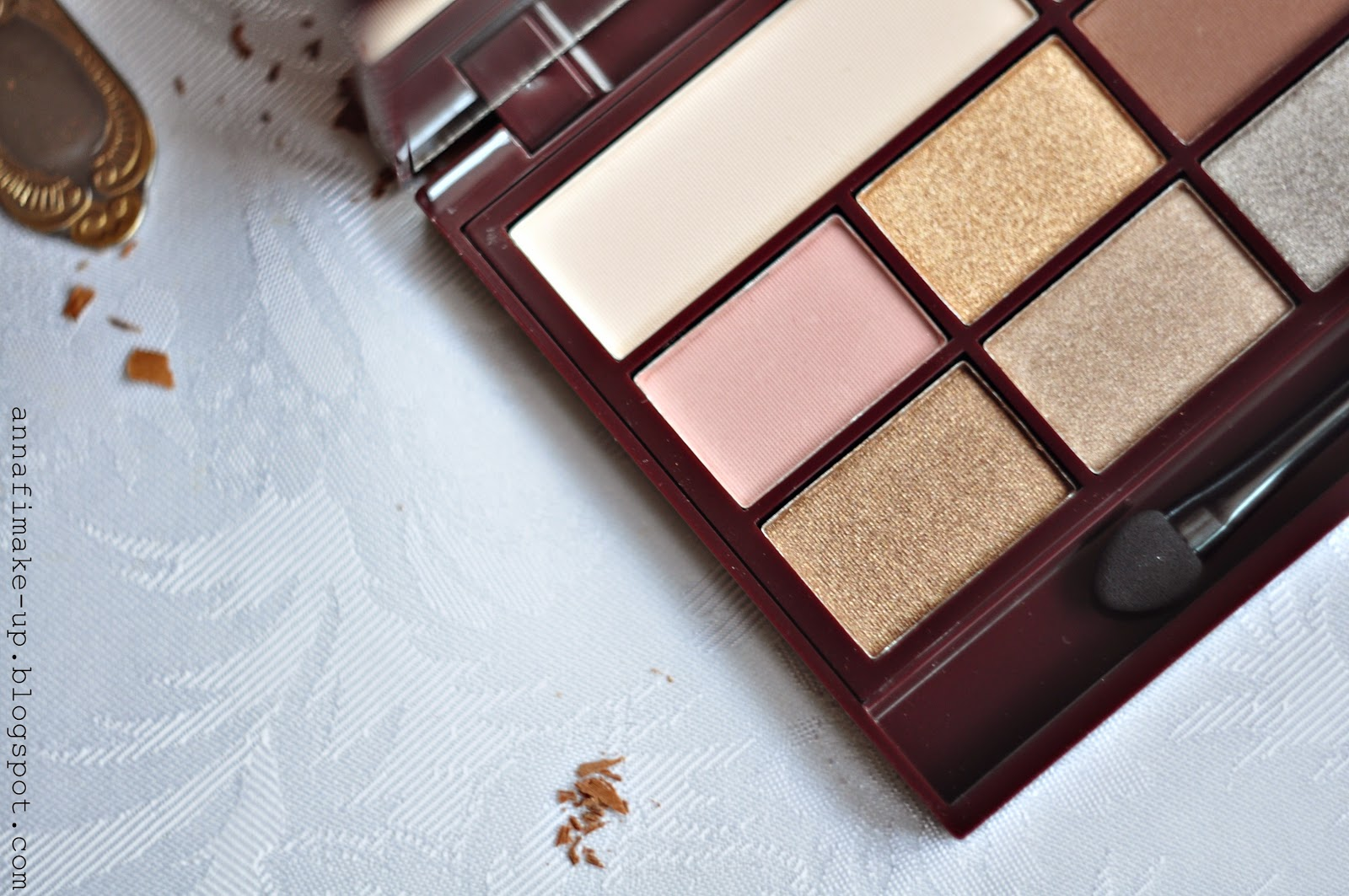 death by chocolate, paletka make up revolution,