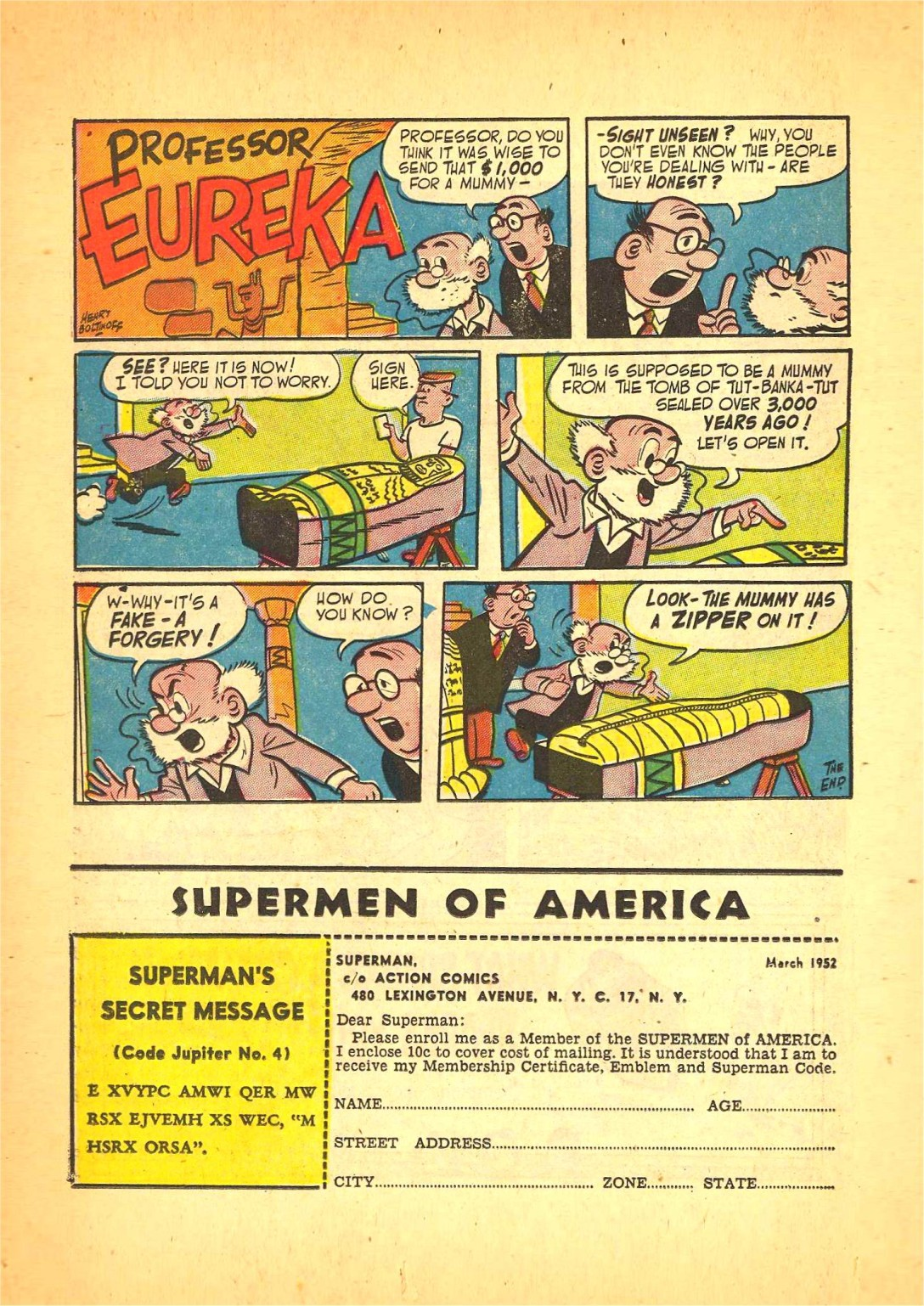 Read online Action Comics (1938) comic -  Issue #166 - 29