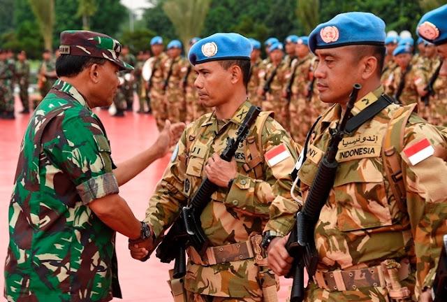 Panglima TNI : Jaga Nama Baik dan Kehormatan Bangsa
