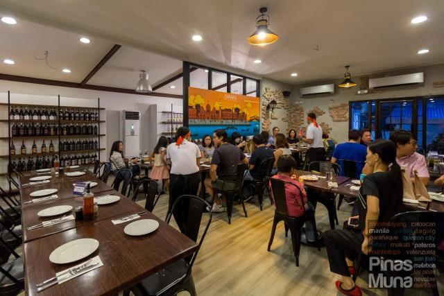 Amare La Cucina (Kapitolyo) Dining Area