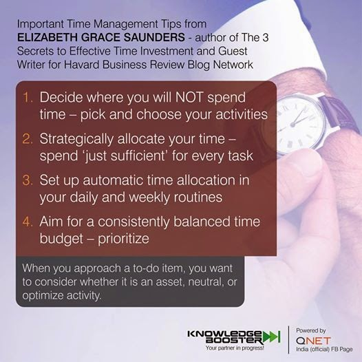 Important Time Management Tips