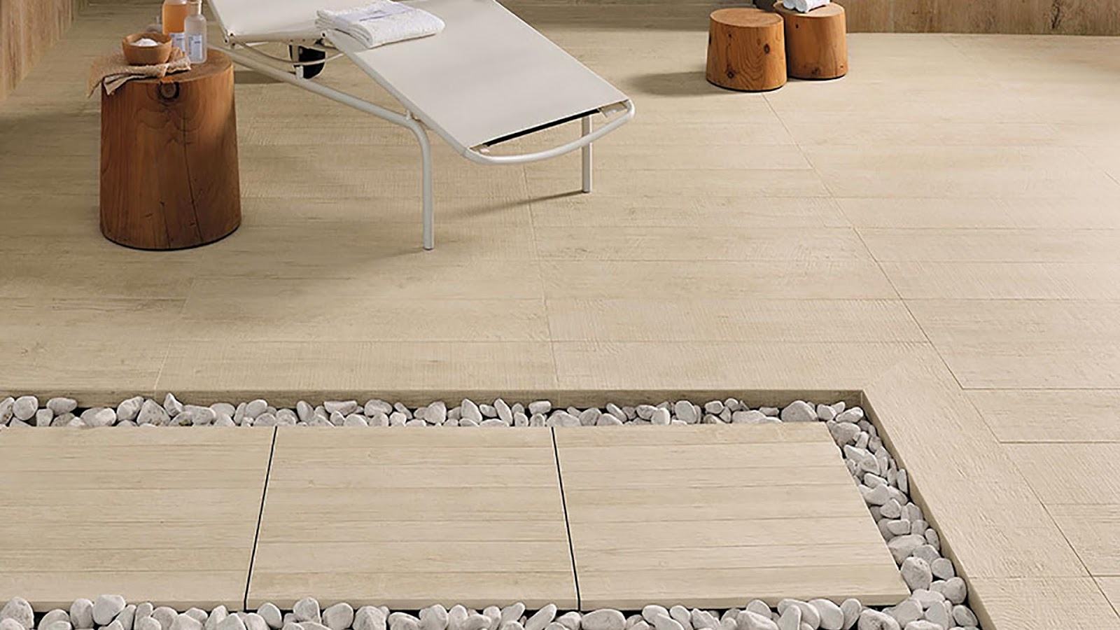 Floor tiles design for small house - AXI collection ...
