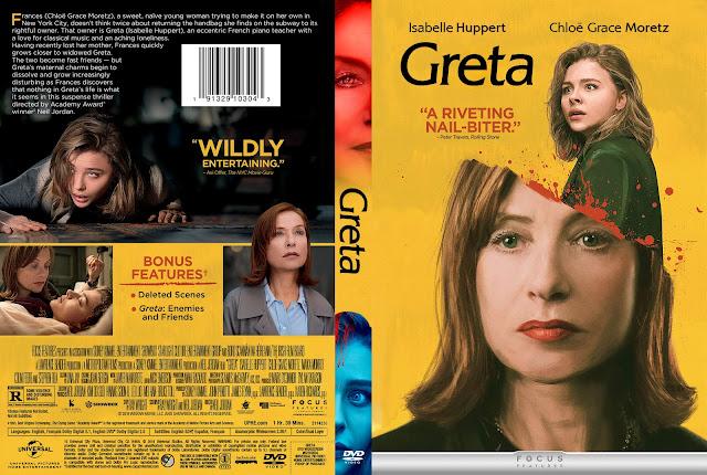 Greta DVD Cover