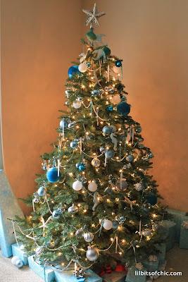 My Ocean themed christmas tree