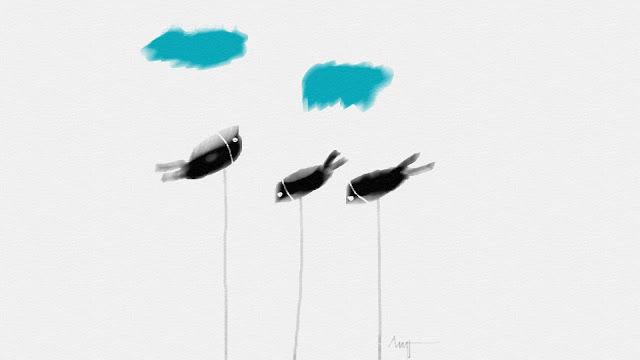 စုိးခုိင္ညိန္း ● လြတ္ထြက္ေနတဲ့ ငါး