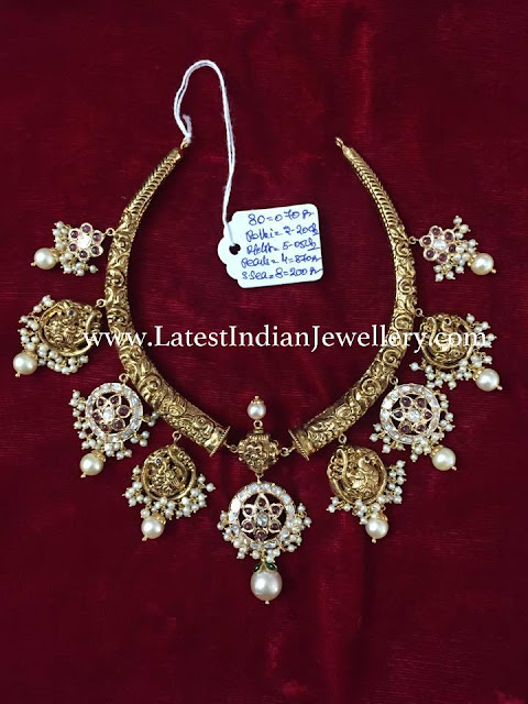 80gms Kante Necklace