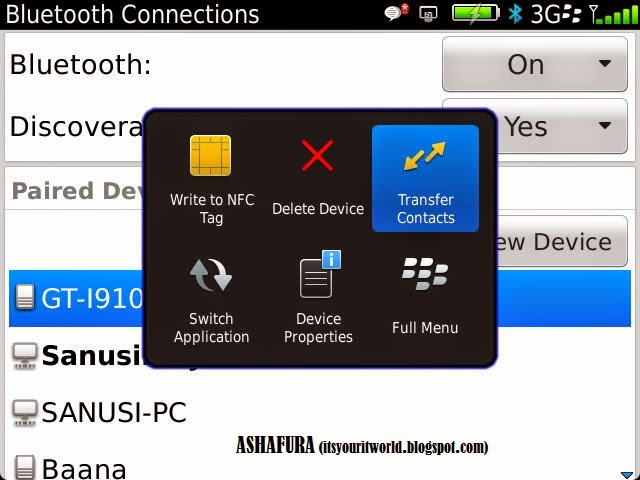 TRANSFER CONTACTS FROM BLACKBERRY TO AN ANDROID PHONE THE
