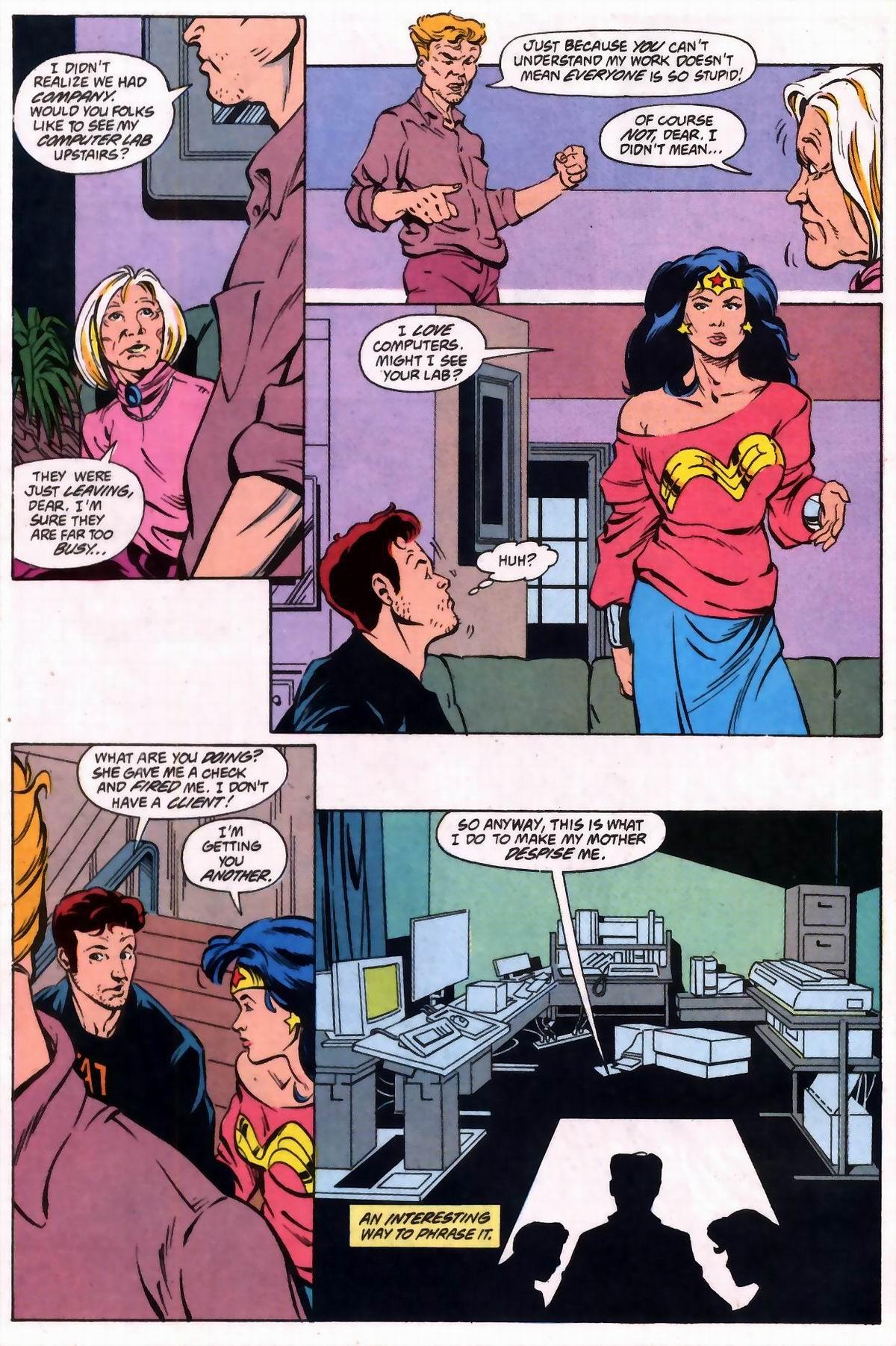 Read online Wonder Woman (1987) comic -  Issue #74 - 15