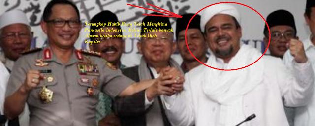 Terbukti Taktik Jitu Kapolri Jendral Tito Karnavian Tekuk Habib Rizieq !!