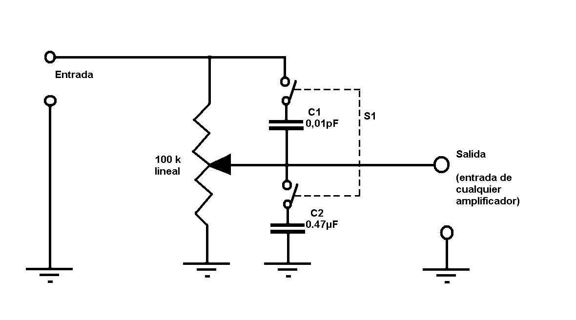 Amplificadores De Audio Control De Sonoridad Loudness