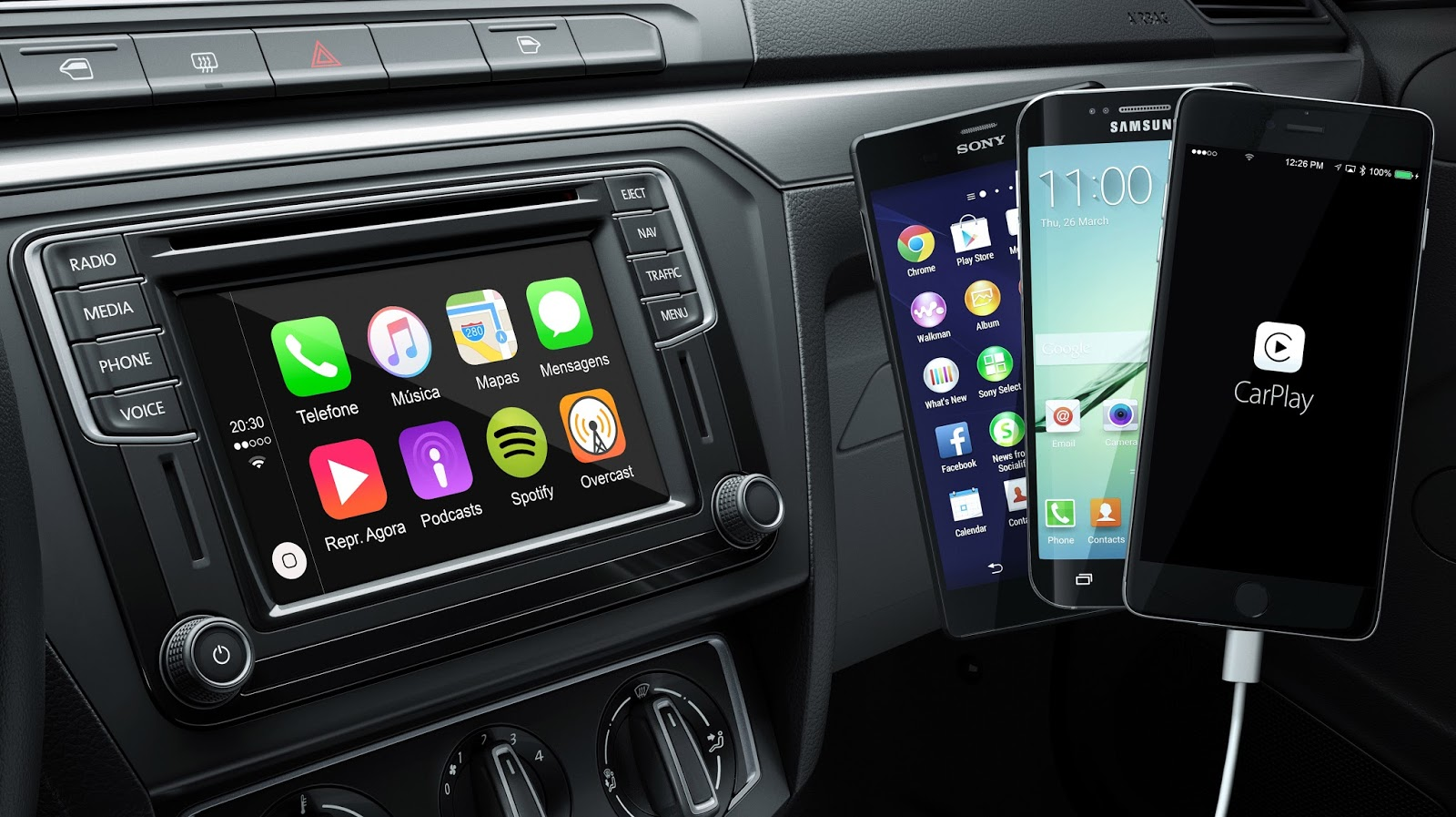 informe android auto apple carplay y mirrorlink explicados autoblog uruguay. Black Bedroom Furniture Sets. Home Design Ideas
