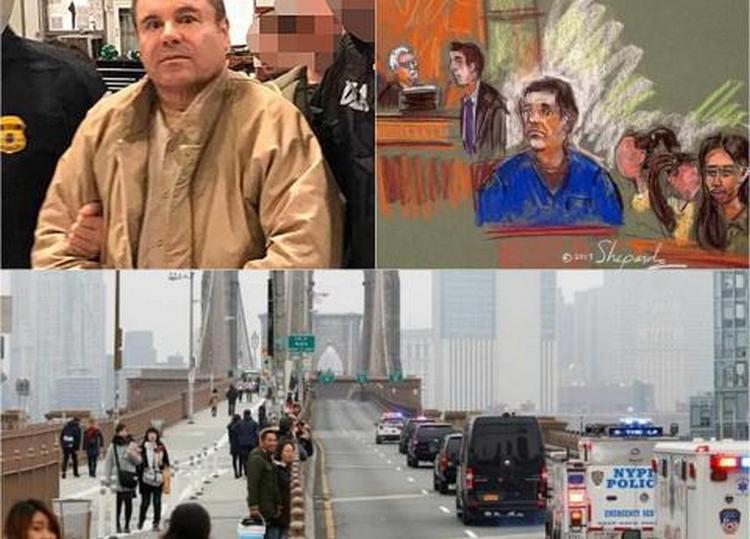 """""""El Chapo"""" pone a """"temblar"""" al Puente de Brooklyn"""