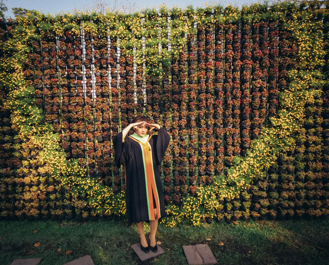 Bokoaz graduation portrait