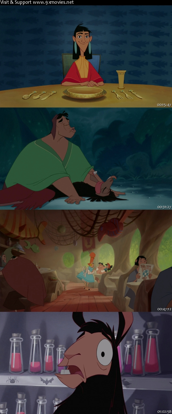 The Emperors New Groove 2000 Dual Audio Hindi 480p BRRip