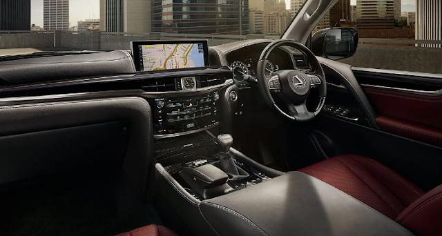 2018 Lexus LX 570 Redesign