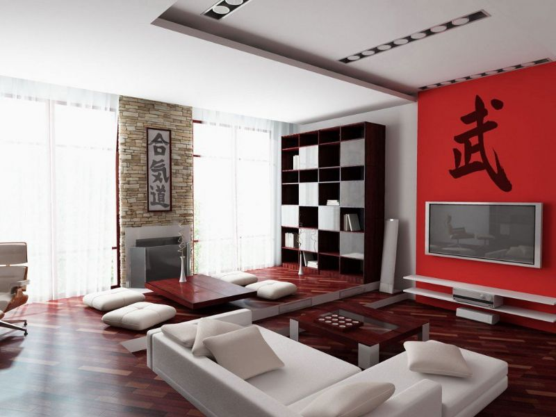 Designs And Architects: Oriental style decoration Living