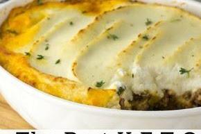 Shepherd's Pie with Recipe Cauliflower Topping